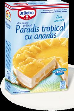 Paradis tropical cu ananas